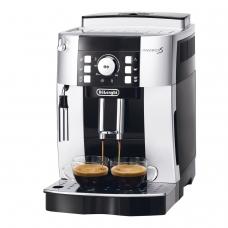 Кофемашина DELONGHI ECAM 21.117.SB, 1450 Вт, объем 1,8 л, емкость для зерен 250 г, ручной капучинатор, серебристая, EСAM 21.117.SB