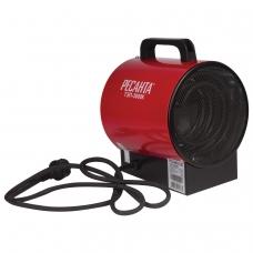Тепловая пушка электрическая РЕСАНТА ТЭП-3000К, 3000 Вт, 220 В, круглая, красная
