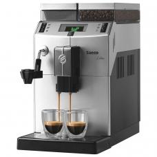 Кофемашина SAECO LIRIKA PLUS, 1850 Вт, объем 2,5 л, емкость для зерен 500 г, автокапучинатор, серебристый, 10004477
