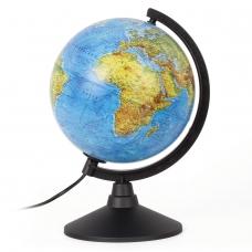 Глобус физический GLOBEN 'Классик', диаметр 210 мм, с подсветкой, К012100009