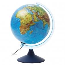 Глобус физический/политический GLOBEN Классик Евро, диаметр 250 мм, рельефный, с подсветкой, Ке022500195