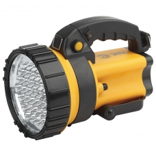 Фонарь-прожектор светодиодный ЭРА PA-603 'АЛЬФА', 36xLED, аккумуляторный, заряд от 220V