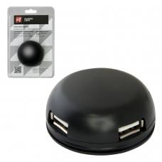 Хаб DEFENDER Quadro Light, USB 2.0, 4 порта, 83201