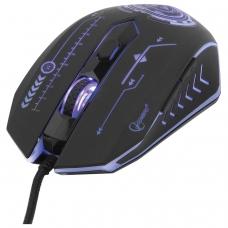 Мышь проводная игровая GEMBIRD MG-510, USB, 5 кнопок + 1 колесо-кнопка, оптическая, черная