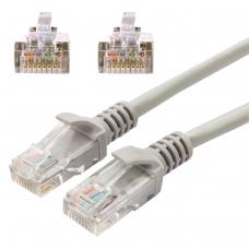 Кабель патч-корд UTP 5e категория, RJ-45, 2 м, CABLEXPERT, для подключения по локальной сети LAN, PP12-2M