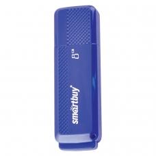 Флэш-диск 8 GB, SMARTBUY Dock, USB 2.0, синий, SB8GBDK-B