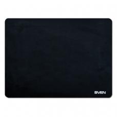 Коврик для мыши SVEN HC-01-03, микрофибра + резина, 300х225х1,5 мм, черный, SV-009885