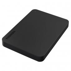 Диск жесткий внешний HDD TOSHIBA Canvio Basics 1TB, 2.5', USB 3.0, черный, HDTB410EK3AA