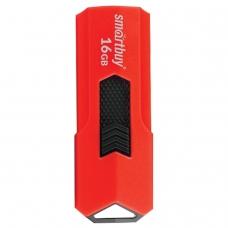 Флэш-диск 16 GB SMARTBUY Stream USB 3.0, красный, SB16GBST-R3