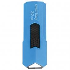 Флэш-диск 32 GB SMARTBUY Stream USB 2.0, синий, SB32GBST-B