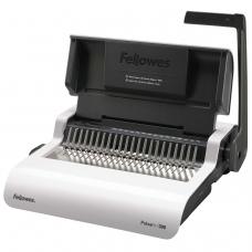Переплетная машина для пластиковой пружины FELLOWES PULSAR-Е, электрическая, пробивает 15 л., сшивает до 300 л., FS-5620701