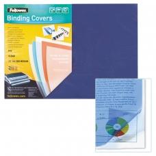 Обложки для переплета FELLOWES, комплект 100 шт., Transparent, А3, пластиковые, 200 мкм, прозрачные, FS-53764