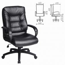 Кресло офисное BRABIX 'Supreme EX-503', экокожа, черное, 530873