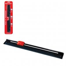 Резак BRAUBERG роликовый R3, А4, 5 л., безопасное лезвие, длина реза 320 мм, в блистере, 531118