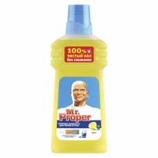 Средство для мытья пола и стен 500 мл, MR.PROPER Мистер Пропер Лимон