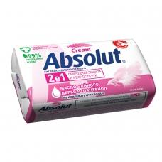 Мыло туалетное 90 г, ABSOLUT Абсолют 'Нежное', антибактериальное, 6001,6058