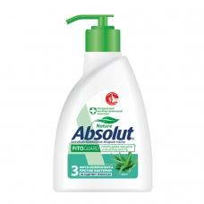 Мыло жидкое 250 мл, ABSOLUT Абсолют, 'Алоэ', антибактериальное, дозатор, 5009, 5064