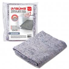 Тряпка для мытья пола 80х100 см, плотность 180 г/м2, ХПП, 80% хлопок, 20% полиэфир, 'Эконом' ЛАЙМА, 600836
