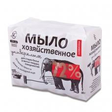 Мыло хозяйственное 72% КОМПЛЕКТ 4 шт. х 100 г Невская Косметика, в упаковке, 11142