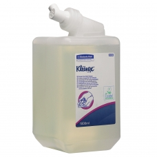 Картридж с жидким мылом одноразовый KIMBERLY-CLARK Kleenex, 1 л, прозрачный, диспенсер 601541, АРТ. 6333