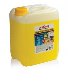 Средство для мытья пола 5 кг, ЛАЙМА PROFESSIONAL концентрат, Лимон, 601606