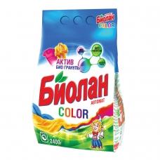 Стиральный порошок-автомат 2,4 кг, БИОЛАН Color Нэфис Косметикс, 103-4