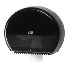 Диспенсер для туалетной бумаги TORK Система T2 Elevation, mini, черный, 555008