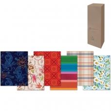 Бумага упаковочная подарочная, в рулонах, глянцевая, 2 листа, 0,7х1 м, рисунок ассорти мужской