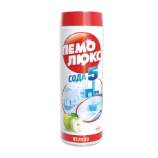Чистящее средство 480 г, ПЕМОЛЮКС Сода-5, 'Яблоко', порошок