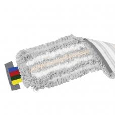 Насадка МОП плоская для швабры/держателя 40 см, уши УВ, полиэстер/волокно/вискоза, VILEDA УльтраСпидТрио, 524820