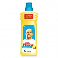 Средство для мытья пола и стен 750 мл, MR.PROPER Мистер Пропер Лимон