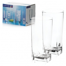 Набор стаканов для сока/виски, 6 шт., 330 мл, высокие, стекло, Sterling, LUMINARC, H7666