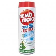 Чистящее средство, 480 г, ПЕМОЛЮКС Сода-5, 'Антибактериальный', порошок, 1996176