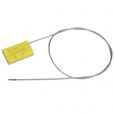 Пломбы металлические тросовые СТРАЖ-1.С, диаметр 1,5 мм, длина 500 мм, КОМПЛЕКТ 10 шт.