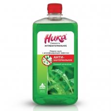 Мыло жидкое дезинфицирующее 1 л, НИКА 'Свежесть', антибактериальное, пробка