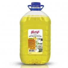 Средство для мытья посуды 5 кг, НИКА 'Супер', лимон, концентрат, ПЭТ