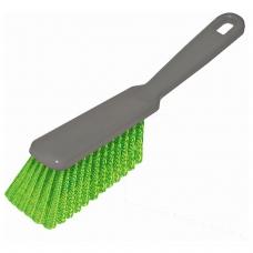 Щетка-сметка для уборки, ручка 16 см, длина щетины 5 см, ширина 4 см, пластик, цвет ассорти, YORK, 60010
