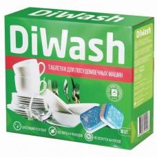 Таблетки для мытья посуды в посудомоечных машинах 30 шт. DIWASH Дивош