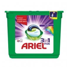 Средство для стирки в капсулах 23 шт. по 27 г, ARIEL Ариэль Color, 1001859