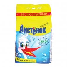 Стиральный порошок для всех типов стирки, 4 кг, АИСТЁНОК 'Волшебный вихрь', бесфосфатный, 4301010015