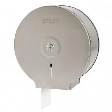 Диспенсер для туалетной бумаги ЛАЙМА Professional Система T2, малый, нержавеющая сталь, матовый, 605048