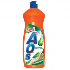 Средство для мытья посуды 900 мл, AOS 'Бальзам Алоэ Вера', 1113-3