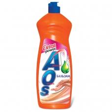 Средство для мытья посуды 900 мл, AOS 'Бальзам', 1111-3