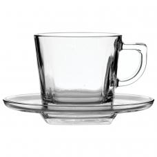 Набор чайный, на 6 персон 6 чашек объемом 210 мл, 6 блюдец, стекло, 'Baltic', PASABAHCE, 95307