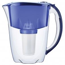 Кувшин-фильтр для очистки воды АКВАФОР 'Престиж А5', 2,8 л, со сменной кассетой, синий, И11150