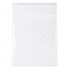 Пакеты с замком 'зиплок' гриппер, 100 шт., 250х350 мм, ПВД, 35 мкм, PEZ017P