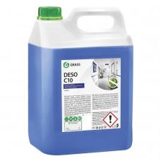 Средство дезинфицирующее 5 кг GRASS DESO C10, нейтральное, низкопенное, концентрат, 125191