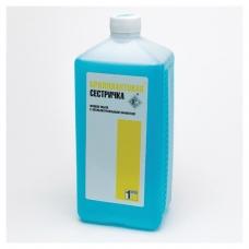 Мыло жидкое дезинфицирующее 1 л, БРИЛЛИАНТОВАЯ СЕСТРИЧКА, гипоаллергенное