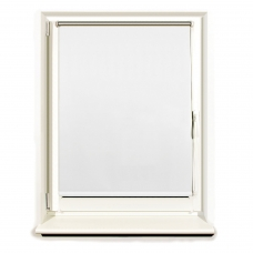 Штора рулонная светонепроницаемая Блэкаут BRABIX 120х175 см, белый/серебро, 606017