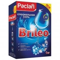 Соль от накипи в посудомоечных машинах 1кг PACLAN Brileo, ш/к 79509, 419150
